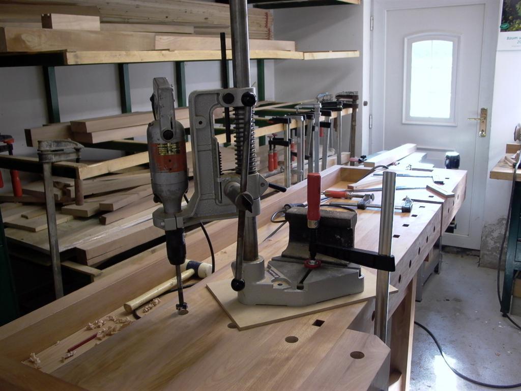 empfehlung bohrst nder bohrmaschine schraubstock. Black Bedroom Furniture Sets. Home Design Ideas