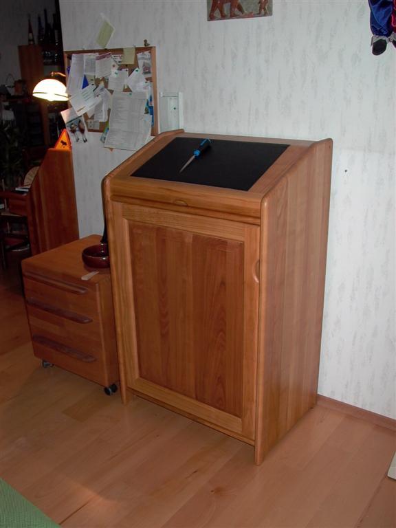 stehpult woodworker. Black Bedroom Furniture Sets. Home Design Ideas